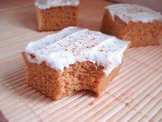Pumpkin Bread Protein Bars - perfect fall treat.