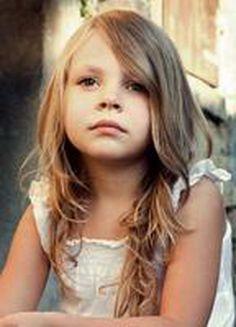 Girl Kid's Hair Style for Long Hair