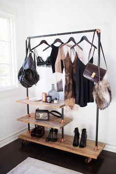 I would love something like this at the end of my walk in closet. It would allow for you to pick out your outfit for the next day or two in advance and have everything ready together NBNB