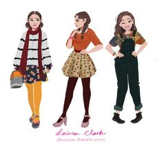 Louisa Clark from Me Before You
