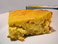 I have yet to find a good creamed corn cornbread recipe. This looks too easy - it's worth a try.