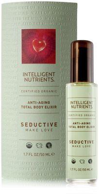 Certified Organic Total Body Elixir: Seductive—Make Love - Intelligent Nutrients