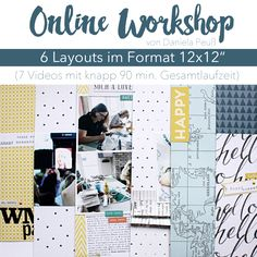 Online Workshop AddOn zum Aprilkit 2016 von www.danipeuss.de #danipeuss #dpaddon #dpaprilkit16 #scrapbooking #layoutworkshop
