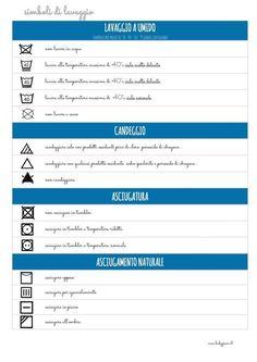 Come leggere le etichette dei vestiti: simboli di lavaggio [PDF] - BabyGreen