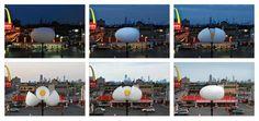 Qué tal esta idea de Leo Burnett Chicago para promocionar el concepto de,Huevos frescos diariamente,de McDonald's.