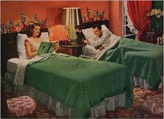 50s bedroom