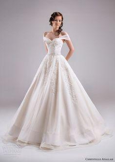 Chrystelle Atallah Spring 2015 Wedding Dresses — Jeanette Bridal Collection   Wedding Inspirasi