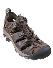 Keen Mens Arroyo II Sandal - Slate Black and Bronze For a sandal with the grip and protection of a walking shoe we recommend the Menapos