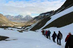 Einmal Spitzbergen und zurück   Gletscherwanderung bei Longyearbyen auf Spitzbergen (c) Frank Koebsch