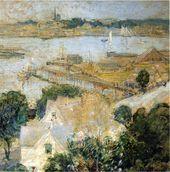 Gloucester Harbor 1900 - John Henry Twachtman - www.johnhenrytwachtman.org