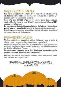 ¡No al Halloween! De https://www.facebook.com/pages/NO-A-HALLOWEEN/236865570544