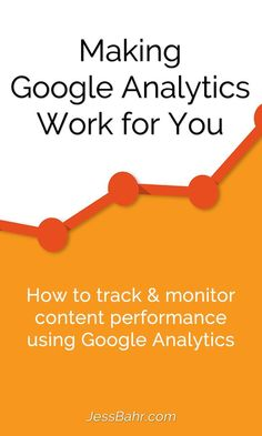"The most common question I get is, ""how do I know any of this is actually working"".  Easy, you measure. There are a lot of defaults setup in Google Analytics to track and measure performance, but there are also some key tweaks you can make to really custo"