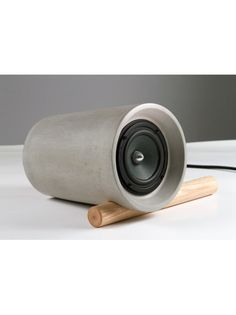 Jack Speaker - Made from Concrete and Wood • Selectism