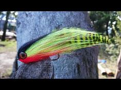 Fly Fishing Flies Improved Fathead Ghost Fly Redfish, Trout, Pike, Bass x 6