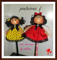 ARTE COM AMOR BY EDILENE: PONTEIRAS