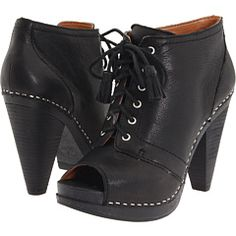 heeled booties with an open toe.. yes.