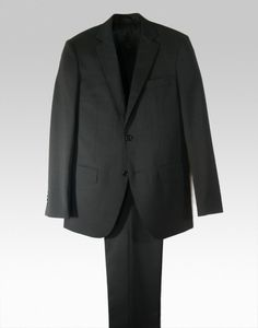 Traje de lana virgen 100% gris marengo #traje #hombre #men #suit