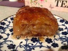 Μηλόπιτα με φύλλο 💜 Greek Desserts, Greek Recipes, Cookbook Recipes, Cooking Recipes, Cream Cake, Deserts, Sweet Home, Pork, Food And Drink