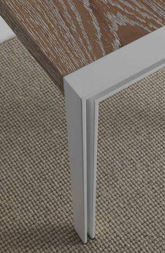 Modern wooden table Skinny | milanomondo