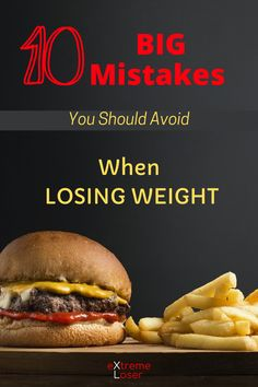 10 Big Mistakes You Should Avoid When Losing Weight Lose Fat Fast, Fat To Fit, Best At Home Workout, At Home Workouts, Weight Lifting, Weight Loss, Not Drinking Enough Water, Mean Green, Cheat Day
