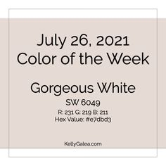 Your Color of the Week and energy reading for the week of July 26, 2021. Hiya, Gorgeous! Here's an invitation from Spirit…