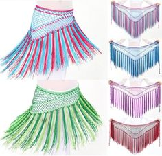 Belly Dance Hip Scarves, Belly Dance Hip Scarfs - Belly Dance Digs