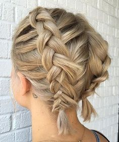 Beautiful Double Dutch Braided Short Hairstyles 2017 – 2018 for Women