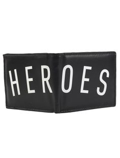 Hereos Wallet [black] // IRIEDAILY FALL WINTER 2015 COLLECTION – WE CAN BE HEROES. // OUT NOW: http://www.iriedaily.de/