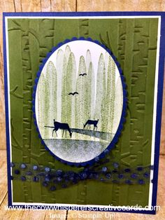 Scenic Seize the Day by The Cow Whisperer - Cards and Paper Crafts at Splitcoaststampers Seize The Days, Masculine Cards, Replay, Creative Cards, Stampin Up Cards, Stamping, Card Ideas, Birthday Cards, Cow