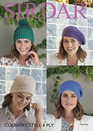 Country Yarns Item Details Average Size Women, Bobble Hats, Dk Weight Yarn, Slouchy Hat, Hats For Women, Yarns, Scarves, Crochet Hats, Stitch