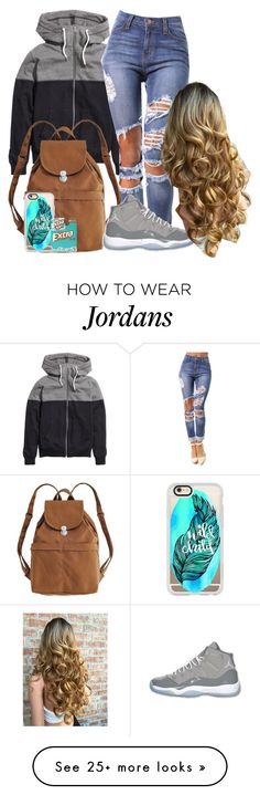 """Untitled #20"" by tsunamimob on Polyvore featuring H&M, BAGGU, Retrò, Casetify and Wrigley's"