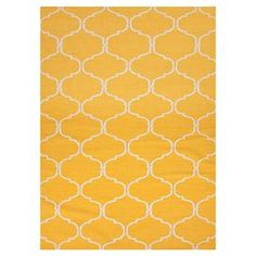 Chic and contemporary, this reversible wool rug is a stylish addition to your d�cor.   Product: RugConstruction Material: 100% WoolColor: YellowFeatures:  ReversibleDurableEasy care Note: Please be aware that actual colors may vary from those shown on your screen. Accent rugs may also not show the entire pattern that the corresponding area rugs have.Cleaning and Care: These rugs can be spot treated with a mild detergent and water.  Professional cleaning is recommended if necessary.