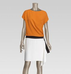 Gucci - dress with foulard skirt 289709ZW6208578
