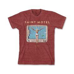 Check out Saint Motel Saintmotelevision T-Shirt on @Merchbar.