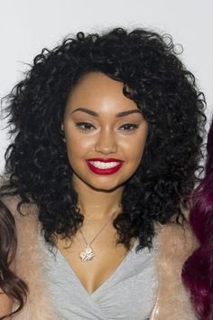 Leigh-Anne Pinnock from Little Mix at the Bershka Flagship Store Launch Party at Oxford Street in London on November 11, 2012.