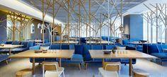 Goose hut Bistro Beijing designed by Golucci International Design