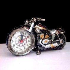 Loskii 3D Home Decorative Motorcycle Alarm Plastic Cool Clock Birthday Gift - US$5.88 - Banggood Mobile