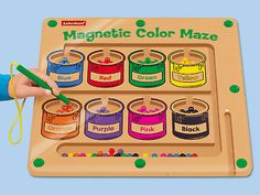 Magnetic Color Maze at Lakeshore Learning