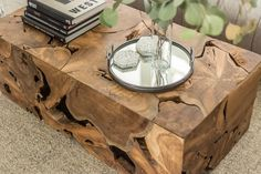 This table is a natural marvel. Made using the root systems of previously felled Teak trees, each table is built by carefully fashioning slices of root in unique and wondrous ways. Each one is its own masterpiece, and, just like you, no two are alike. Teak Oil, Coffee Table Styling, Live Edge Wood, Price Point, Beautiful Living Rooms, Solid Wood Furniture, Mid Century Modern Furniture, Furniture Inspiration, Form