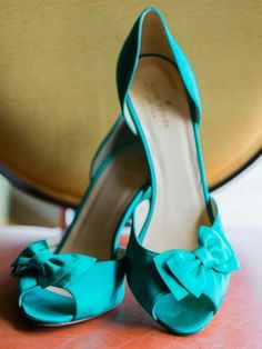 Teal shoes: http://www.stylemepretty.com/illinois-weddings/chicago/2015/05/22/enchanting-chicago-wedding-at-revolution-brewing/   Photography: Dabble Me This - http://dabblemethis.com/