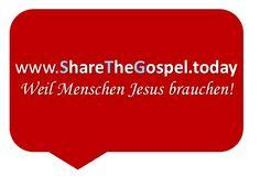 Werde Teil der #ShareTheGospel Bewegung!