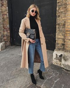 G o o d l i f e camel coat outfit classy Winter Fashion Outfits, Fall Winter Outfits, Autumn Winter Fashion, Women's Fashion, Fashion Trends, Winter Clothes, Street Fashion, Autumn Cozy Outfit, Classy Winter Fashion