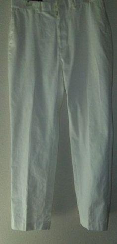 Polo Golf Ralph Lauren Men White Size 34/32 Pants #PoloRalphLauren #CasualPants