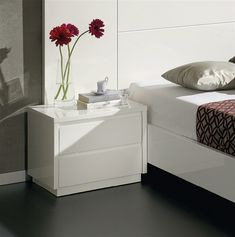 White Side Table, 50 x 39 x Wardrobe Design Bedroom, Bedroom Furniture Design, Room Decor Bedroom, Bedside Table Decor, Nightstand, Side Tables Bedroom, White Side Tables, Cute Room Decor, Bedroom Night Stands