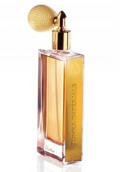 Tonka Imperiale was presented in 2010 as the 7th fragrance of Guerlain's line L'Art et la Matière. Creator of the fragrance is Thierry Wasser, and the key ingredient is Tonka. This composition encompasses Tonka, rosemary, spices, white honey, vanilla, almond, woody notes, amber and tobacco. - Fragrantica <3<3<3<3<3