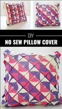 76 Crafts To Make and Sell - Easy DIY Ideas for Cheap Things To Sell on Etsy, Online and for Craft Fairs. Make Money with These Homemade Crafts for Teens, Kids, Christmas, Summer, Mother's Day Gifts. |  No Sew Pillow Cover  |  diyjoy.com/crafts-to-make-and-sell