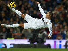 I'm gonna learn how to do a bicycle kick. (: