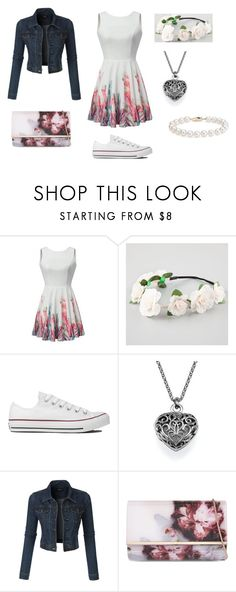 """""""My Style 6"""" by oreo-chan ❤ liked on Polyvore featuring Full Tilt, Converse, LE3NO, Ted Baker and Blue Nile"""