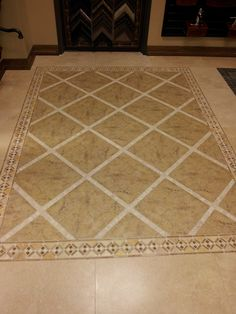entryway or foryer tile floor design home decor remodeling ideas pinterest ceramics floor tile patterns and creative - Tile Floor Design Ideas