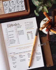 Bullet Journal Goals